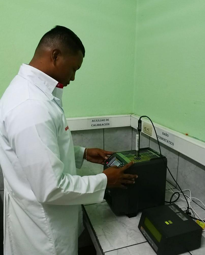 Servicios de calibración de equipos de medición