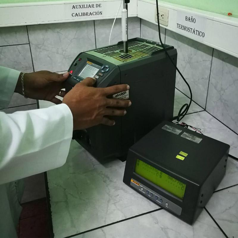 Calibración de instrumentos de temperatura en Costa Rica